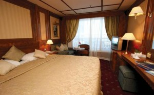 Tour of Nile River- Cruise Ship - MS Grand Rose - Cabin - Egypt