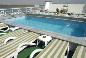 presidential nile cruises pool
